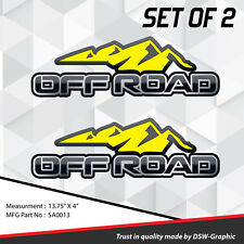 *NEW* 4X4 SPORT OFFROAD DECAL STICKER JEEP TITAN SILVERADO XTERRA SONOMA SA0013