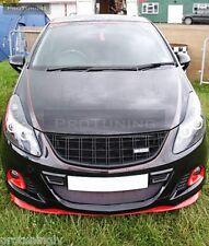 Véritable Opel Vauxhall Corsa B C D pare-choc avant lèvre de spoiler bordure Splitter OPC GTC