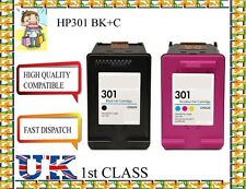 2 Remanufactured hp301BK&C  High Quality Inkjet Cartridges hp nonoriginal