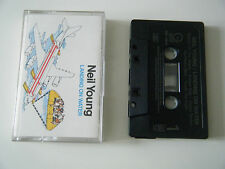 NEIL YOUNG LANDING ON WATER CASSETTE TAPE GEFFEN 1986