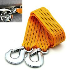 New Car 3 Tons 3M Emergency Heavy Duty Tow Rope Cable Towing Strap with Hooks