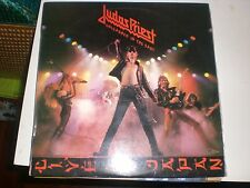 LP Judas Priest Unleashed In The East - CBS S 83852 Spain 1979 - VG+