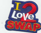 Girl I LOVE 2 SWAP Fun Patches Crests Badges SCOUTS GUIDES Homeschool Swapping