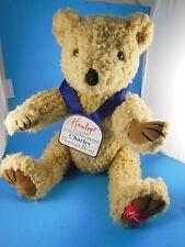 "Hanley's Of London Prince Charles Plush Bear 16"" Fully Jointed MWT"