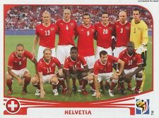 N°581 TEAM SQUADRA # SWITZERLAND STICKER PANINI WORLD CUP SOUTH AFRICA 2010