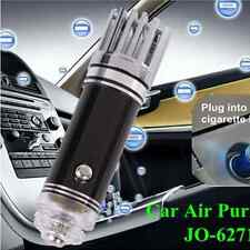 Black Mini Auto Car Fresh Air Ionic Purifier Oxygen Bar Ozone Ionizer Cleaner
