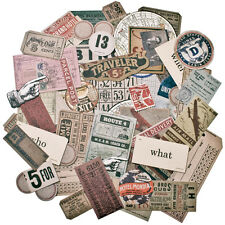 Idea-ology Ephemera Pack 63 Pieces-Expedition by Tim Holtz