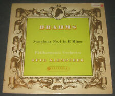 KLEMPERER -  BRAHMS Symphony no. 4 COLUMBIA 33CX 1591 lp