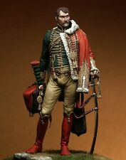 Pegaso Models Napoleonic Officer Chasseurs of the Guard 90mm Model Unpainted Kit