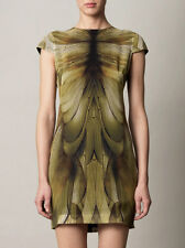 McQ Alexander McQueen Dragonfly-print silk dress IT 36 ( US 2 or 4 )