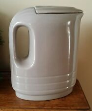 Westinghouse by Hall China, Water Pitcher with top Gray