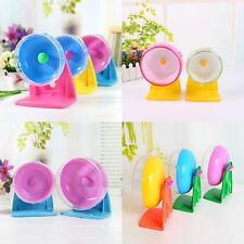 Pet Hamster Mouse Rat Mice Exercise Silent Running Spinner Plastic Wheel Pet Toy