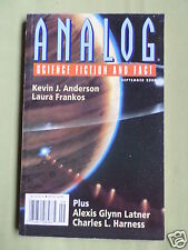 ANALOG- SCIENCE FICTION & FACT MAG - SEPT 2000- LAURA FRANKOS- KEVIN J ANDERSON