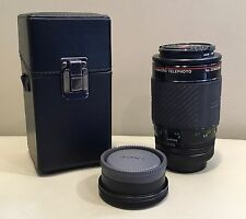 Vivitar Series 1 105mm f/2.5 true 1:1 macro FD lens + case + extras bundle