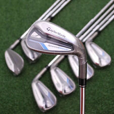 TaylorMade SpeedBlade HL Irons 4-PW&AW Golf SET - Steel Uni-Flex - NEW