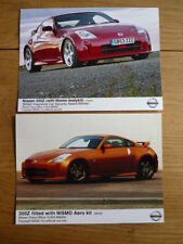 "NISSAN 350Z WITH NISMO AERO KIT PUBLICITY/PRESS PHOTOS ""brochure"" jm"