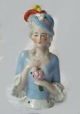Emma Half Doll Mold - Plaster Mold Made To Cast Porcelain Or Ceramic