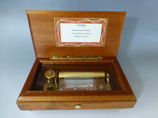 "RARE VINTAGE SWISS THORENS ( PRE REUGE) MUSIC BOX 72 KEY  ""Chopin"" Edition Model"