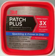 3M 8oz Patch Plus Primer Spackling & Primer Patch In One Drywall Plaster Stucco
