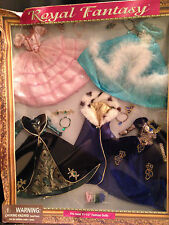 "Designer 11 1/2"" Dolls Royal Fantasy Elegant Clothes Collectible Brass Key NIB"