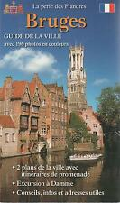 BRUGES GUIDE VILLE 196 PHOTOS + PARIS POSTER GUIDE