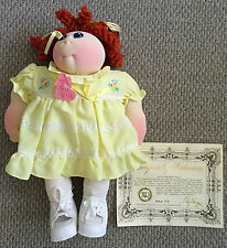 Vintage! NEW Little People Pals Cabbage Patch Kid XAVIER ROBERTS Doll 1982 #7641