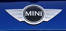 New 3D Mini Cooper Front &  Rear Emblem Hood / Trunk Badge Replaces OEM Decal