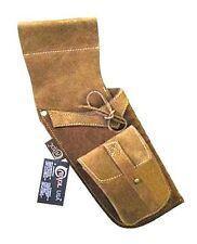 CAROL TRADITIONAL SIDE/HIP/BELT/WAIST SUEDE LEATHER ARROW QUIVER AQ119 (R/H)