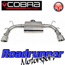 MZ06 Cobra Mazda MX5 Rear Silencer Exhaust Box (Road Type Quieter) 1.8 2.0 (NC)