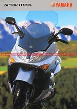YAMAHA TMax 500 XP T-MAX - 2003 : Brochure - Dépliant - Moto - Scooter    #0641#