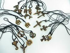 *US Seller*lot of 20 pc pendant hippie gothic necklaces wholesale jewelry lot