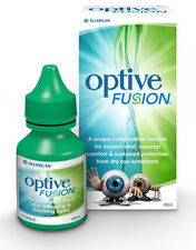 *NEW*  Optive Fusion + Lubricant Eye Drops 10ml for Dry Eye Drops FREEPOST