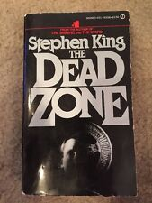 The Dead Zone Stephen King  PB First Signet Printing 1980