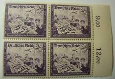 GERMANY WW2  HITLERS  CULTURE FUNDS   1944   3rd Reich. MINT.BLOCK.    -