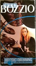 Terry Bozzio * VHS *  Melodic Drumming  & the Ostinato * (Drum Instructional) V1