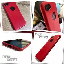 Original Apple iPhone 7 Case Genuine Tech 2 TPU Flex Silicone Leather Bumper Red