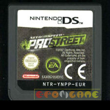 NEED FOR SPEED PROSTREET Nintendo Ds Versione Italiana Pro Street •••• CARTUCCIA