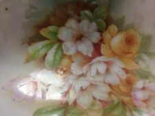 Antique Bavarian Porcelain Relish Dish