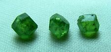 3 Pcs, Natural RARE Green DEMANTOID GARNET Crystals @ Pakistan