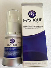 2 X  MYSTIQUE instant wrinkle smoother face eyes lift in 2 mins serum cream 15ml