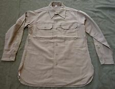 WWII US ARMY INFANTRY M1937 ENLISTED NCO WOOL COMBAT FIELD SHIRT-2XLARGE
