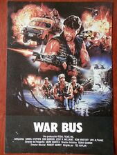 1 LOBBY CARD WAR BUS TED KAPLAN