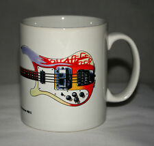 Guitar Mug. Paul McCartney's 1964 Rickenbacker 4001S Bass illustration.