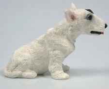 bullterrier terrier mastiff  hund figur hundefigur  Alabaster