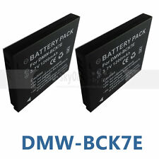 2X Battery for Panasonic Lumix DMC-SZ1 DMC-SZ5 DMC-SZ7 DMC-SZ7K Digital Camera
