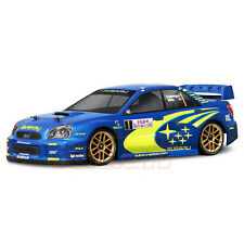 HPI Racing Subaru Impreza WRC 2004 Clear 200mm Body RC Cars Touring Drift #17505