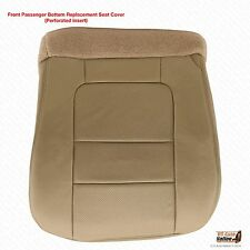 2001 Ford F250 F350 Lariat PASSENGER Side LEATHER Replacement Seat Cover Tan