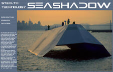 SEASHADOW RC Model Boat Plans Pattern CNC Laser ScrollSaw