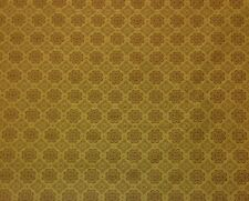 "WAVERLY NORWICH DIJON GOLD MEDALLION JACQUARD FURNITURE FABRIC BY THE YARD 57""W"