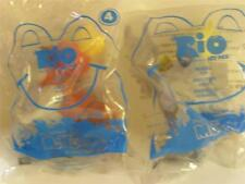 McDONALDS TOY COLLECTABLE  RIO  #4 & #6